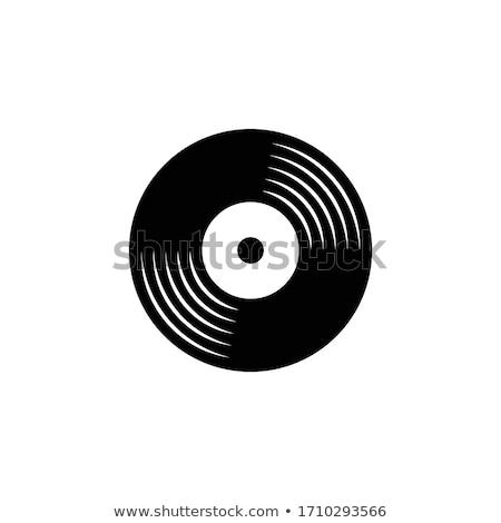 retro · winylu · rekord · wektora · streszczenie · czarny - zdjęcia stock © m_pavlov