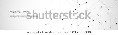 Digital red vector Internet tecnología mapa del mundo Foto stock © -Baks-