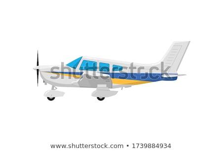 военных самолет изолированный самолета плоскости вектора Сток-фото © robuart