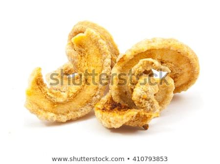 Delicious crispy pork rinds Stock photo © Klinker