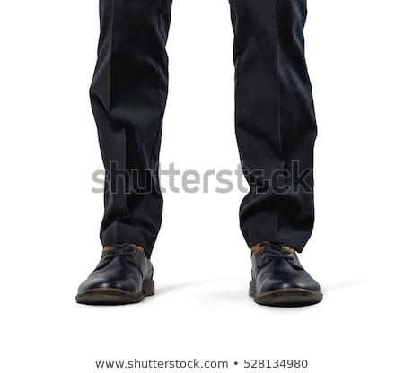 Feet And Legs Of Man Standing stock photo © dtiberio