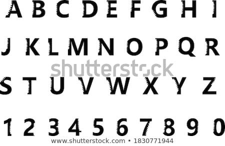 Rekina nowoczesne wektora wyrażenie ilustracja Zdjęcia stock © Decorwithme
