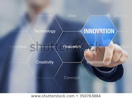 Communication Innovation concept Stock photo © Lightsource