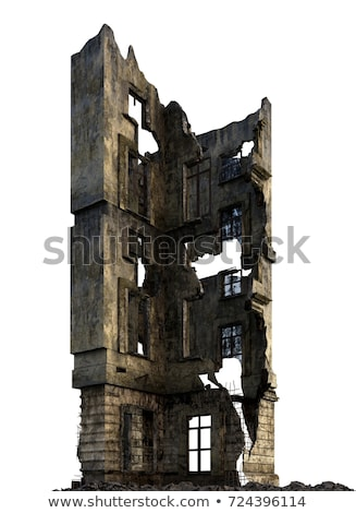 Ruined building Stock photo © tracer