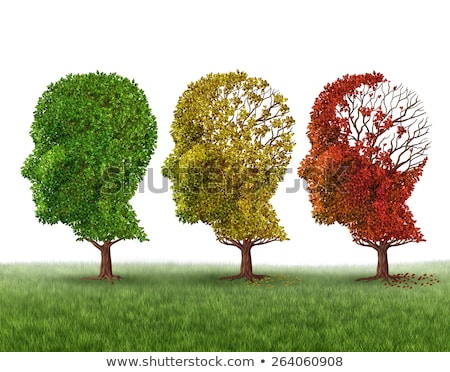 starszych · demencja · lekarza · opieki · człowiek - zdjęcia stock © lightsource