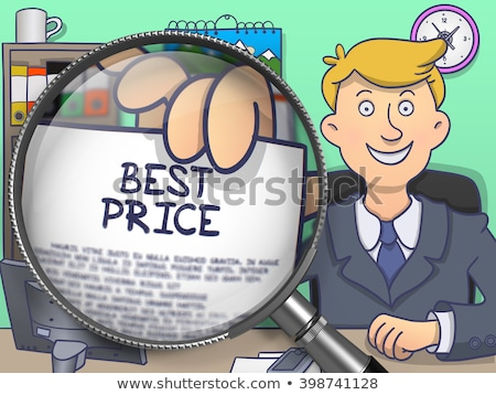 Bestseller through Lens. Doodle Concept. Stock photo © tashatuvango