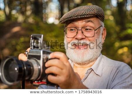 クローズアップ プロ 写真 レンズ フロント カラフル ストックフォト © tashatuvango