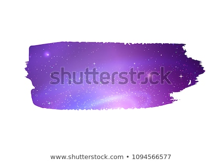 watercolor stain with outer space inside stock photo © sonya_illustrations