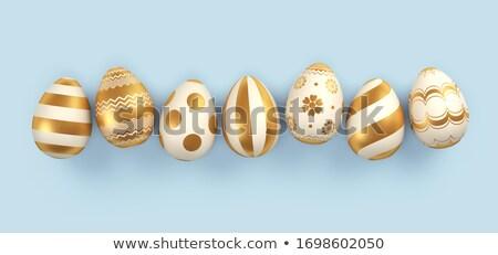 colorido · ovos · de · páscoa · 3D - foto stock © Wetzkaz