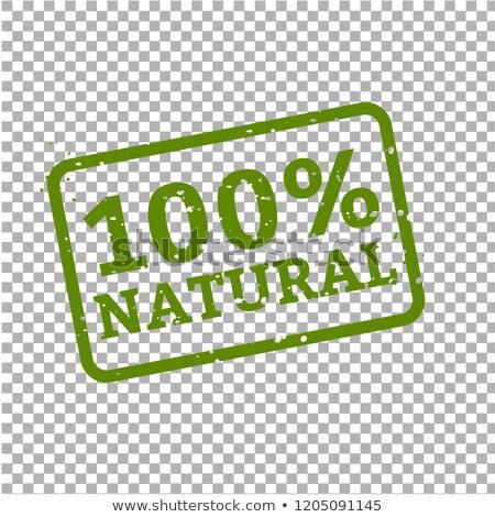 Stock fotó: 100 · természetes · bélyeg · felirat · karton · levél