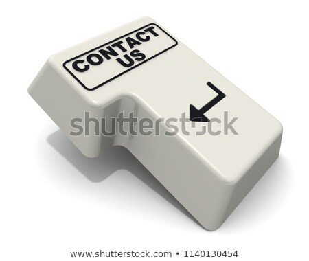 Business Mail - Inscription on White Keyboard Keypad. 3D. Stock photo © tashatuvango