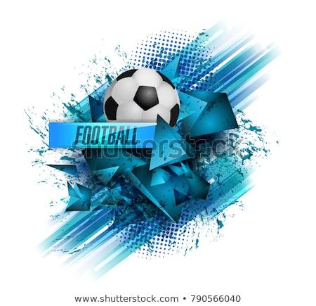 Футбол лига футбола черный спортивных аннотация Сток-фото © SArts