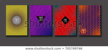 Purple lines abstract background, oblique lines, simple vector illustration stock photo © kurkalukas