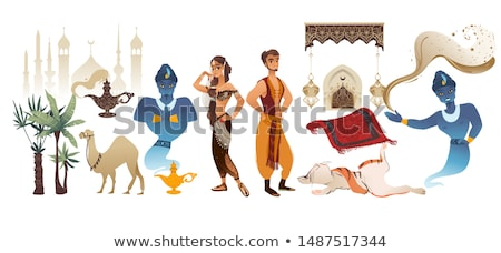 Cartoon Sultan Sign Stock photo © cthoman
