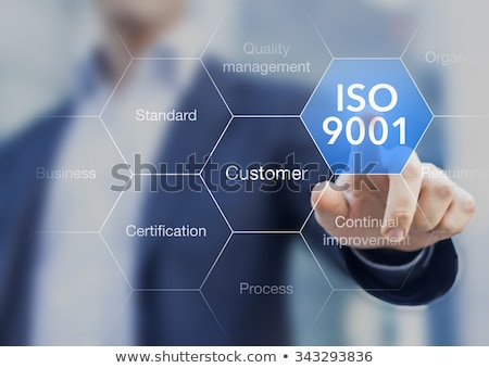 ISO 9001 Quality Management System Certified Concept Stock photo © ivelin