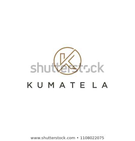 circle k logotype icon symbol element letter Stock photo © blaskorizov