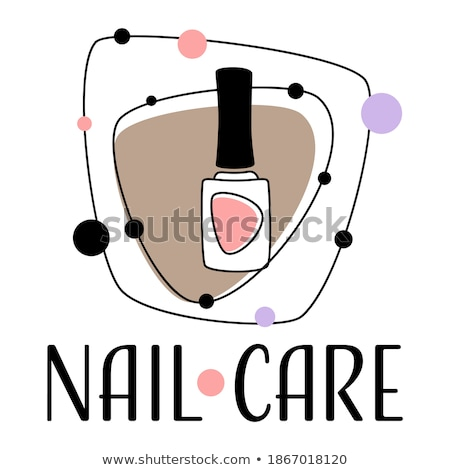 Pedicurist Treatment of Nails of Client Vector Stock photo © robuart