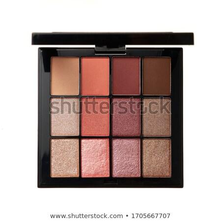 paletine · ayarlamak · dekoratif · kozmetik - stok fotoğraf © zerbor