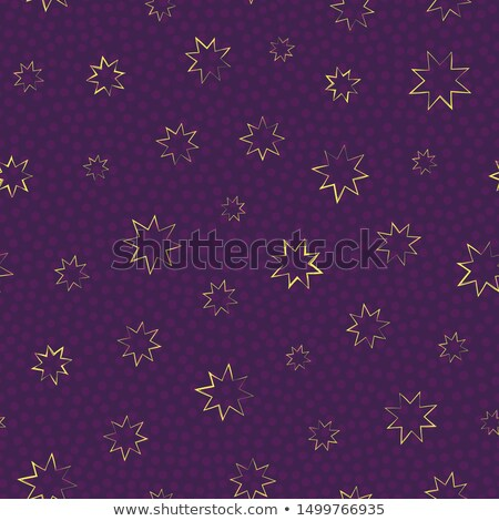 Golden Stars And Starry Night seamless dreams patterns Stock photo © Glasaigh