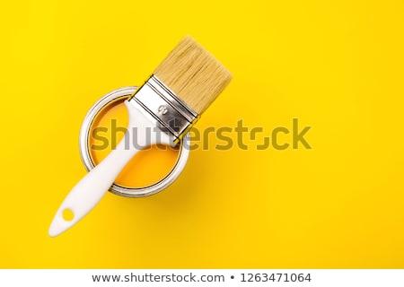Yellow painted surface. Stock photo © Leonardi
