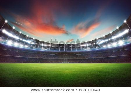 площадка сцена ночь иллюстрация фон искусства Сток-фото © bluering