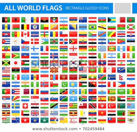 conjunto · cor · bandeiras · isolado - foto stock © kup1984