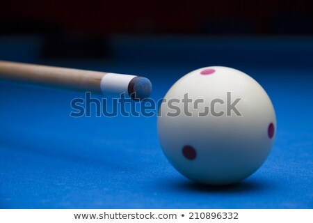 Billiard Cue, Ball and Chalk Stock photo © angelp