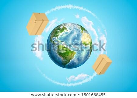логистика всемирный груза вокруг Мир люди Сток-фото © robuart