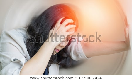 Patient  With Dizziness And Headache Stock photo © AndreyPopov