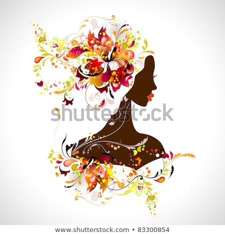 outono · ilustração · vetor · textura · floresta · abstrato - foto stock © orson