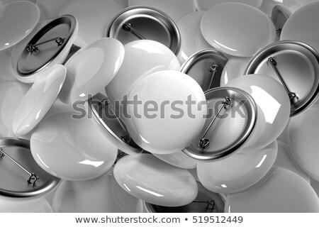 veel · knoppen · hoop · witte · oude · textuur - stockfoto © Paha_L