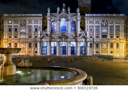 Santa Maria Maggiore Basilica (ST. Mary Major) Stock photo © aladin66