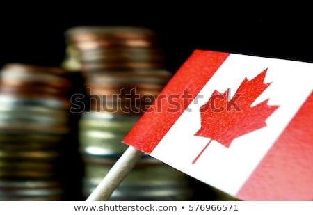 Zdjęcia stock: Kanada · ceny · monet · biały · działalności