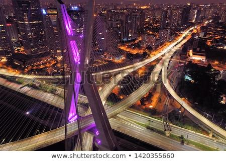 моста небе дороги аннотация технологий синий Сток-фото © Iscatel