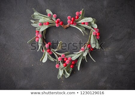 wreath of hearts 1 stock photo © marinini