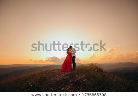 couple foreplay Stock photo © dolgachov