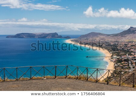 Porto Santo viewpoint Stock photo © Gbuglok