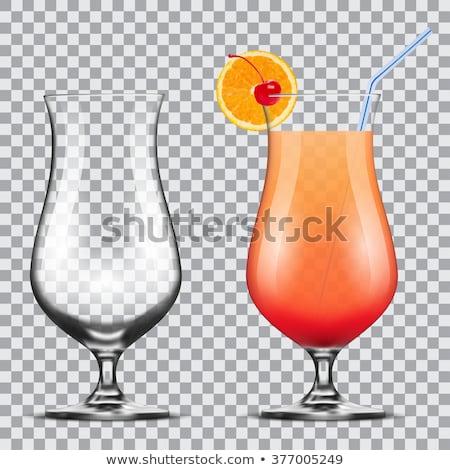 Orkaan lege glas oppervlak witte Stockfoto © grafvision