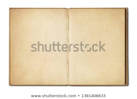 Oude boekpagina Stockfoto © Daboost