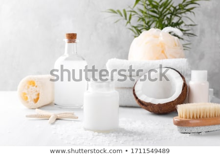 bath salt and fish stock photo © manfredxy