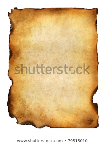 Old burnt paper Stock photo © kjpargeter