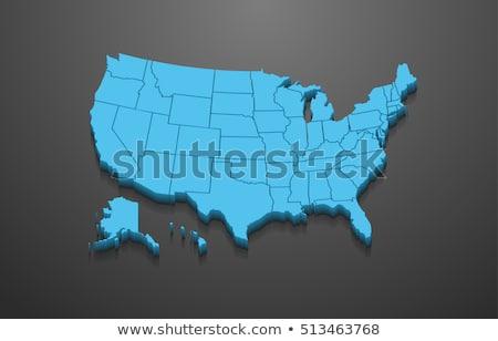 3D harita Nevada arka plan seyahat siluet Stok fotoğraf © andreasberheide