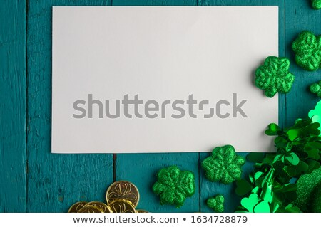 Leprechaun Laying on an Edge Stock photo © AlienCat