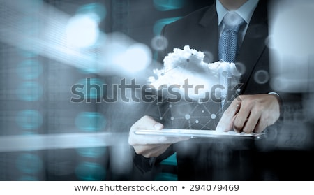 cloud computing intelligence growth stock photo © lightsource