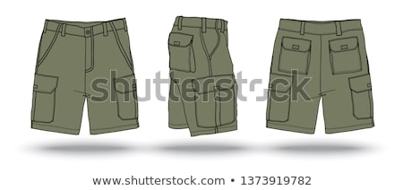 boy in military pants Stock photo © Marfot