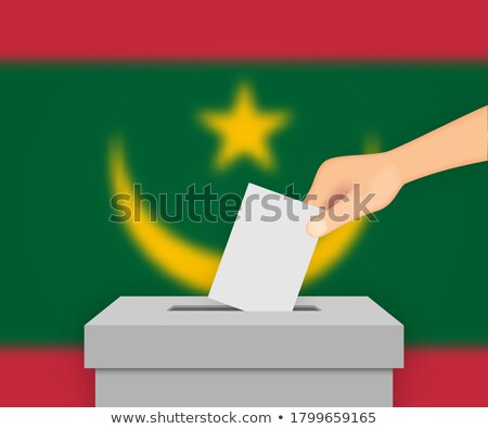 Ballot box Mauritania Stock photo © Ustofre9