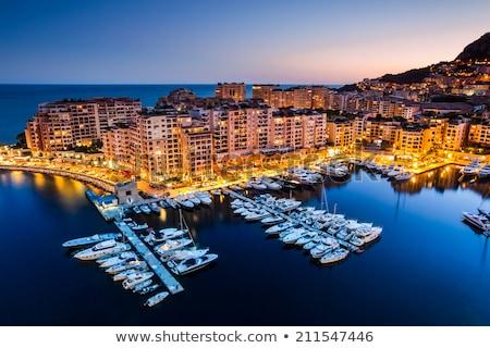 Navegação Mônaco topo ver céu edifício Foto stock © joyr