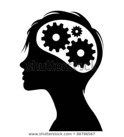 insan · istihbarat · beyin · fonksiyon · dişliler · biçim - stok fotoğraf © ra2studio