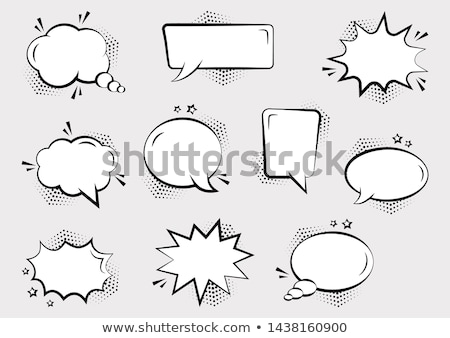 different ideas speech bubbles stock photo © burakowski