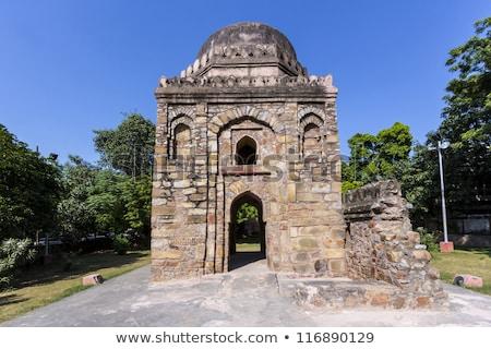 デリー 有名な 建物 インド 芸術 アジア ストックフォト © meinzahn
